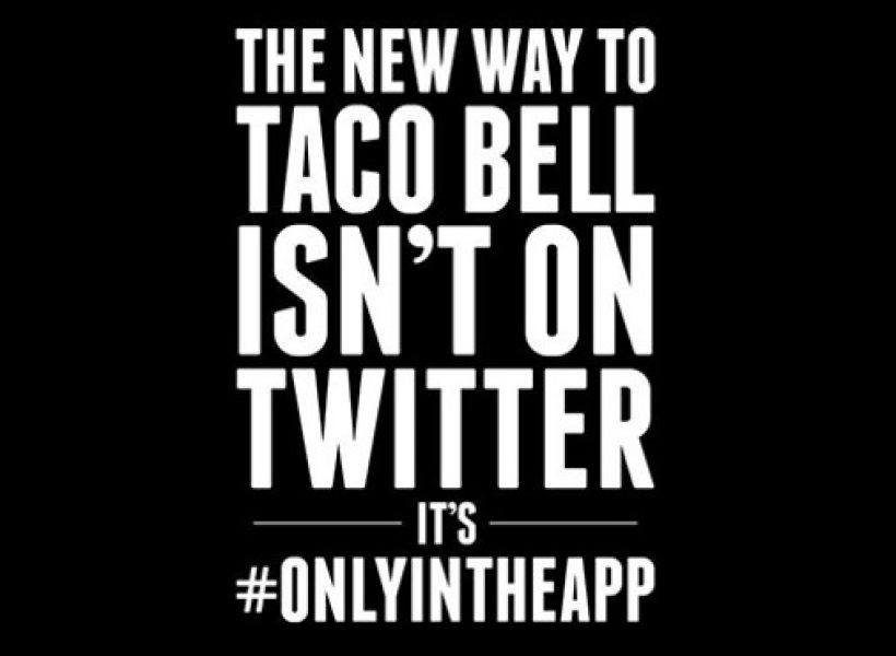 El paradigma Taco Bell