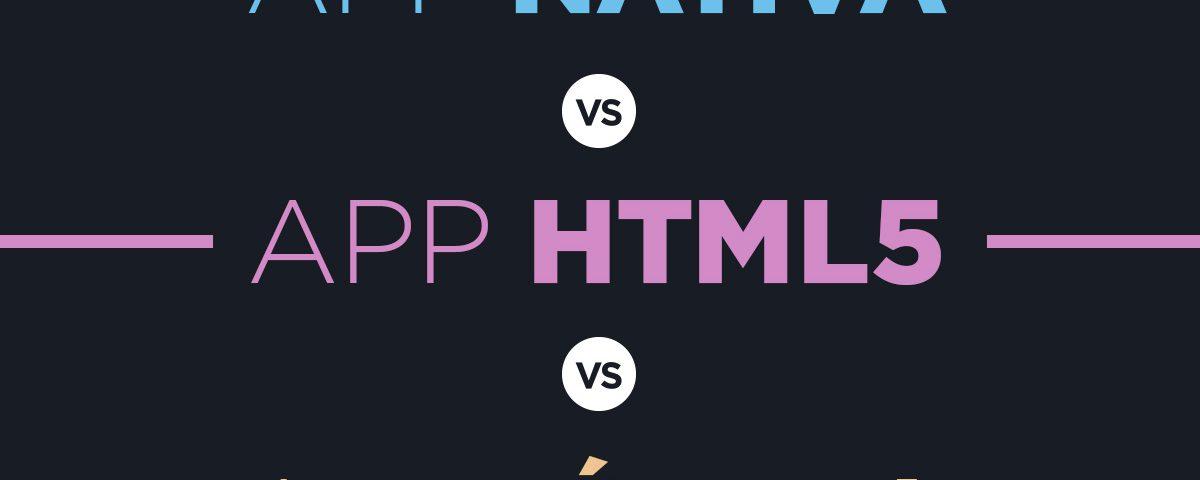 app nativa vs html5