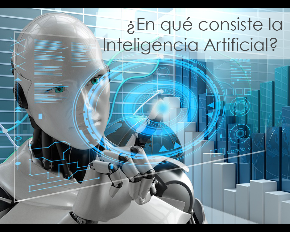 Robot con inteligencia artificial