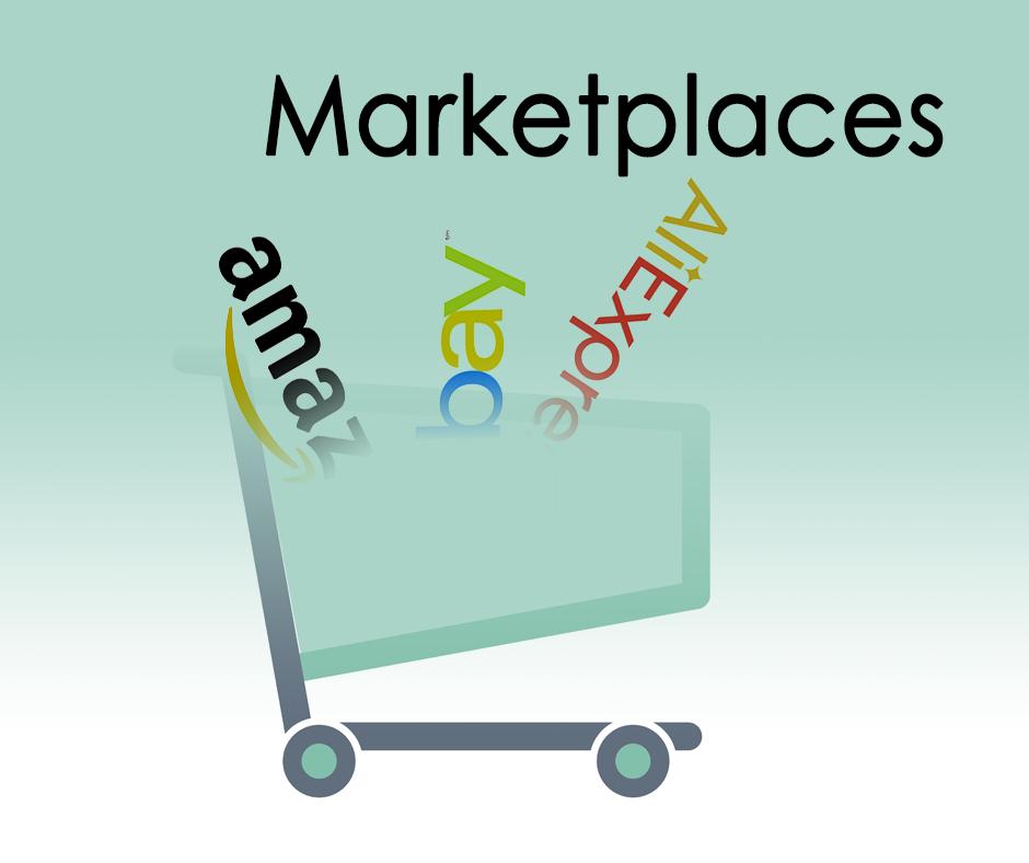 Carro de la compra con ejemplos de marketplace