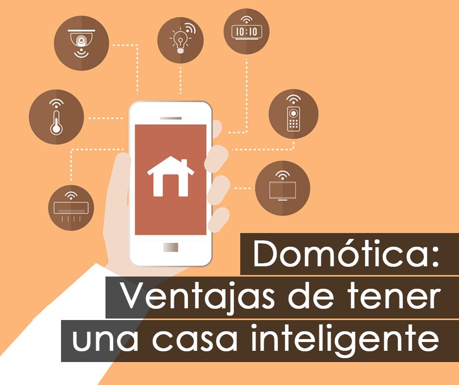 Ilustración que muestra aplicaciones de la domótica al hogar