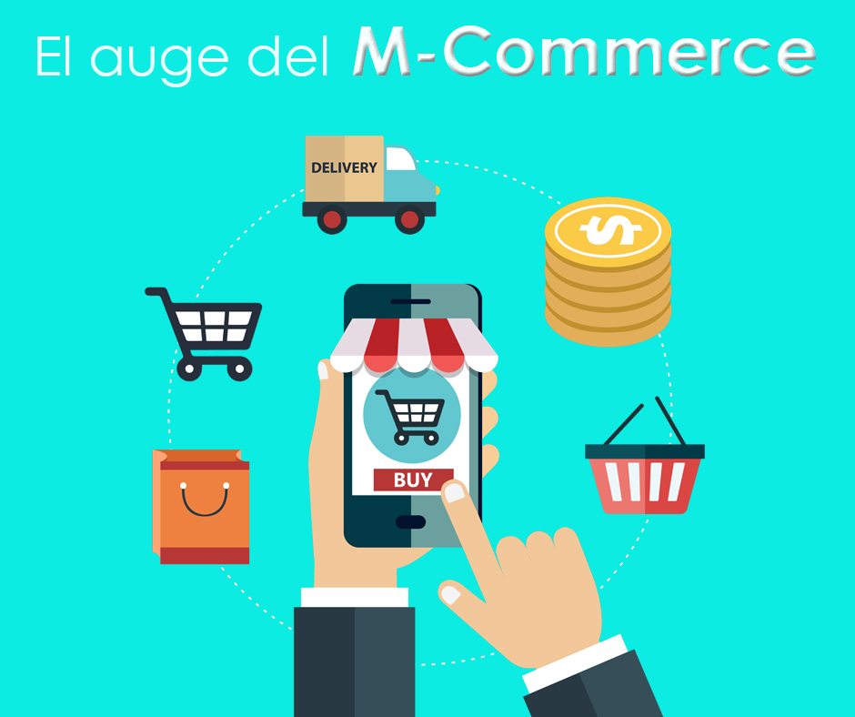 Compras desde el móvil, auge del m-commerce